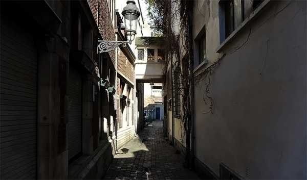 Back Alley Beale Street