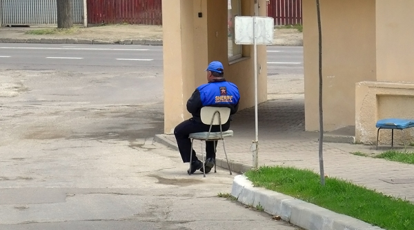 Security Guard Chair